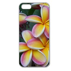 Premier Mix Flower Apple Seamless Iphone 5 Case (clear) by alohaA