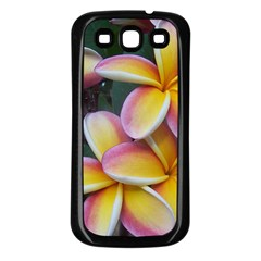 Premier Mix Flower Samsung Galaxy S3 Back Case (black) by alohaA