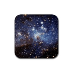 Large Magellanic Cloud Rubber Square Coaster (4 Pack)