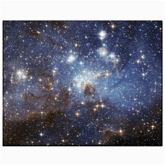 Large Magellanic Cloud Canvas 11  X 14   by SpaceShop