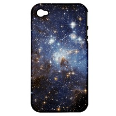 Large Magellanic Cloud Apple Iphone 4/4s Hardshell Case (pc+silicone) by SpaceShop
