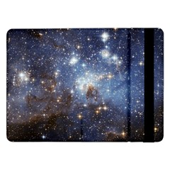 Large Magellanic Cloud Samsung Galaxy Tab Pro 12 2  Flip Case by SpaceShop