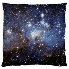 Large Magellanic Cloud Standard Flano Cushion Case (one Side) by SpaceShop