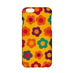 Floral Pattern Apple Iphone 6/6s Hardshell Case by Valentinaart