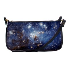 Large Magellanic Cloud Shoulder Clutch Bags by SpaceShop