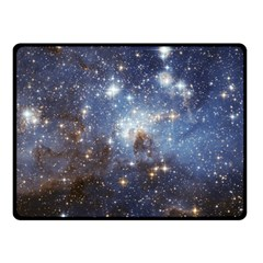 Large Magellanic Cloud Fleece Blanket (small) by SpaceShop
