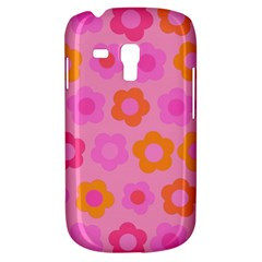 Pink Floral Pattern Galaxy S3 Mini by Valentinaart