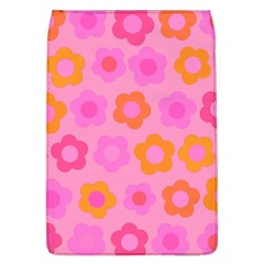 Pink Floral Pattern Flap Covers (l)  by Valentinaart