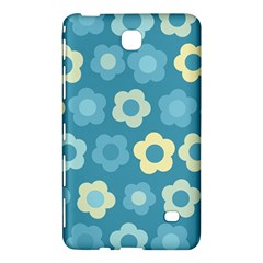 Floral Pattern Samsung Galaxy Tab 4 (7 ) Hardshell Case  by Valentinaart