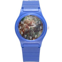 Tarantula Nebula Round Plastic Sport Watch (s) by SpaceShop