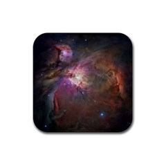 Orion Nebula Rubber Square Coaster (4 Pack)  by SpaceShop