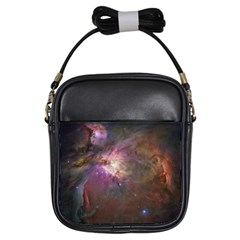 Orion Nebula Girls Sling Bags by SpaceShop