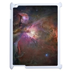 Orion Nebula Apple Ipad 2 Case (white) by SpaceShop