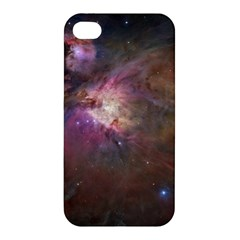 Orion Nebula Apple Iphone 4/4s Premium Hardshell Case by SpaceShop