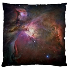 Orion Nebula Large Cushion Case (one Side) by SpaceShop