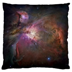 Orion Nebula Large Flano Cushion Case (one Side) by SpaceShop