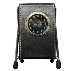 Propeller Nebula Pen Holder Desk Clocks by SpaceShop