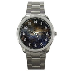 Propeller Nebula Sport Metal Watch by SpaceShop