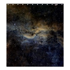 Propeller Nebula Shower Curtain 66  X 72  (large)  by SpaceShop