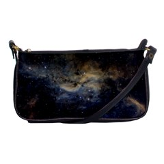 Propeller Nebula Shoulder Clutch Bags by SpaceShop