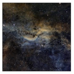 Propeller Nebula Large Satin Scarf (square) by SpaceShop