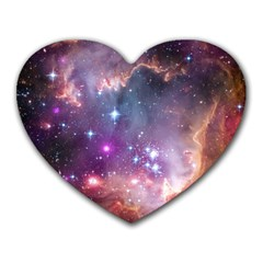 Small Magellanic Cloud Heart Mousepads by SpaceShop