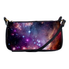 Small Magellanic Cloud Shoulder Clutch Bags by SpaceShop