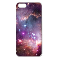 Small Magellanic Cloud Apple Seamless Iphone 5 Case (clear) by SpaceShop