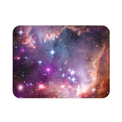 Small Magellanic Cloud Double Sided Flano Blanket (mini)  by SpaceShop