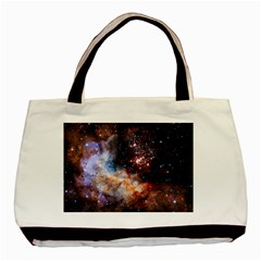 Celestial Fireworks Basic Tote Bag by SpaceShop