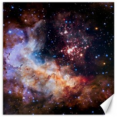 Celestial Fireworks Canvas 16  X 16   by SpaceShop