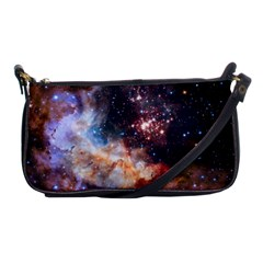 Celestial Fireworks Shoulder Clutch Bags by SpaceShop