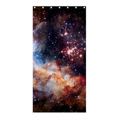 Celestial Fireworks Shower Curtain 36  X 72  (stall)  by SpaceShop