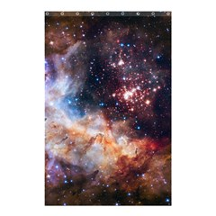 Celestial Fireworks Shower Curtain 48  X 72  (small)  by SpaceShop