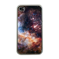 Celestial Fireworks Apple Iphone 4 Case (clear) by SpaceShop