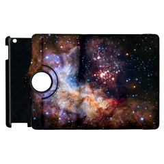 Celestial Fireworks Apple Ipad 3/4 Flip 360 Case by SpaceShop
