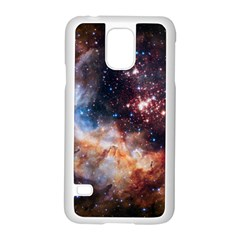 Celestial Fireworks Samsung Galaxy S5 Case (white) by SpaceShop