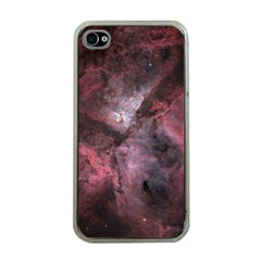 Carina Peach 4553 Apple Iphone 4 Case (clear) by SpaceShop