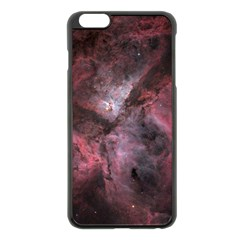 Carina Peach 4553 Apple Iphone 6 Plus/6s Plus Black Enamel Case by SpaceShop