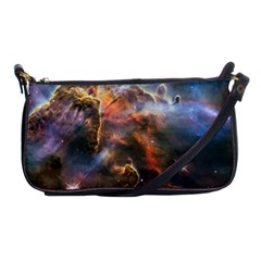 Pillar And Jets Shoulder Clutch Bags by SpaceShop