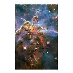 Pillar And Jets Shower Curtain 48  X 72  (small)  by SpaceShop