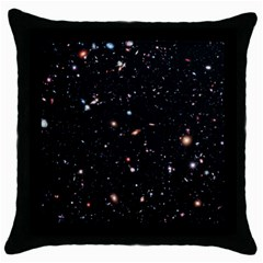 Extreme Deep Field Throw Pillow Case (black) by SpaceShop