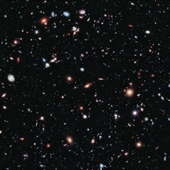 Extreme Deep Field Canvas 12  X 12   by SpaceShop