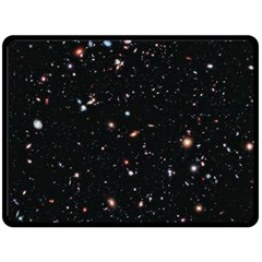 Extreme Deep Field Double Sided Fleece Blanket (large)  by SpaceShop