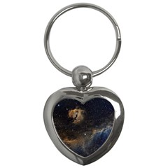 Seagull Nebula Key Chains (heart)  by SpaceShop
