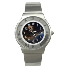 Seagull Nebula Stainless Steel Watch by SpaceShop