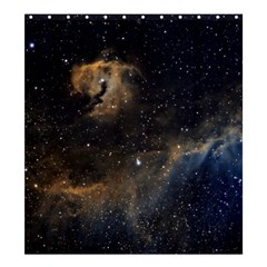 Seagull Nebula Shower Curtain 66  X 72  (large)  by SpaceShop