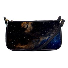 Seagull Nebula Shoulder Clutch Bags by SpaceShop