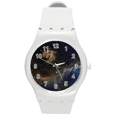 Seagull Nebula Round Plastic Sport Watch (m) by SpaceShop