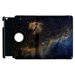 Seagull Nebula Apple Ipad 3/4 Flip 360 Case by SpaceShop